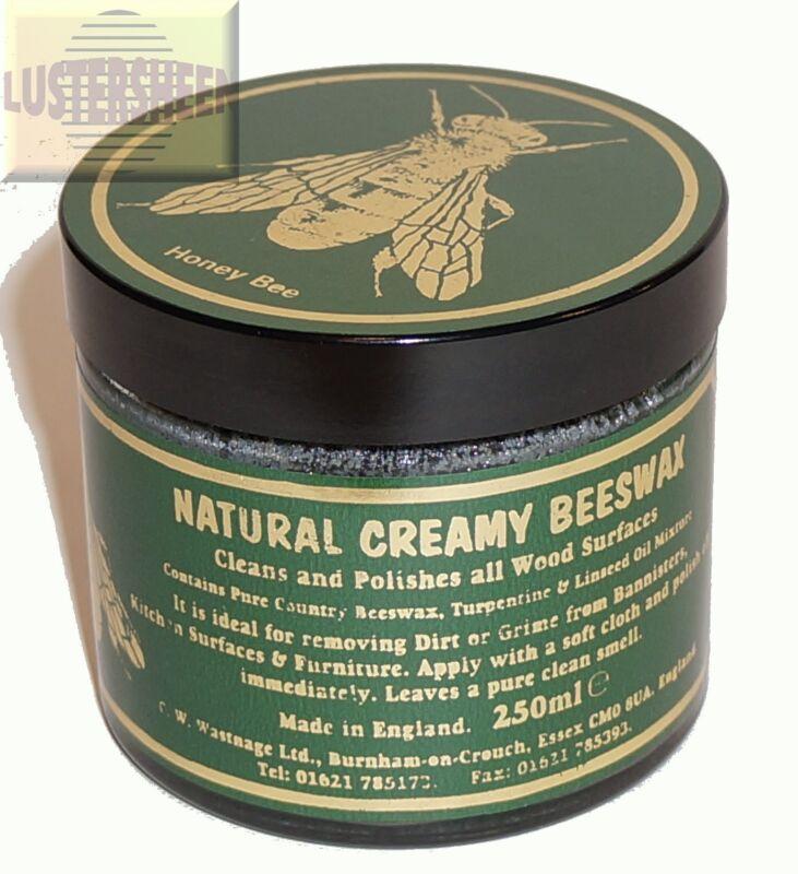 Classic Natural Creamy Beeswax in Dark 250 ml / 8 FL OZ