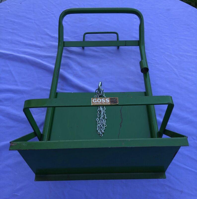 Goss Welding Bottle Cart