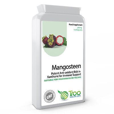 Mangosteen 120 Capsule Antiossidanti Confezione 500mg. Nuova