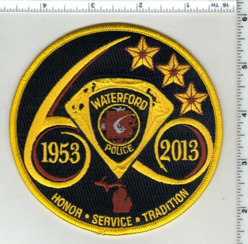 Waterford Police (Connecticut) 1st Issue Anniversary Shoulder Patch