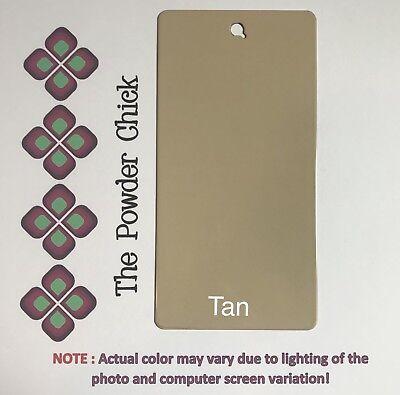 Tan 4919365 Powder Coating Paint 1lb Bag New