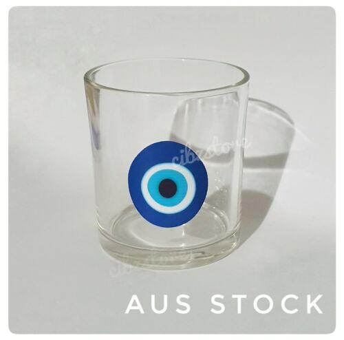 Home Decoration - Evil Eye Sticker Vinyl Turkish Wall Decal Home Art Craft Candle Glass Jar Decor