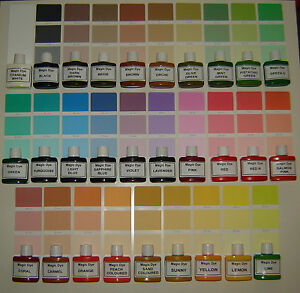 Magic dye wall paint colourant pigment paint colour interior exterior ebay - Exterior wall paint colours set ...