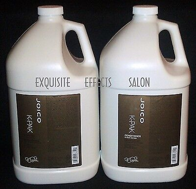JOICO K-PAK Reconstruct Shampoo and Conditioner GALLON DUO W/Pumps - NEW!
