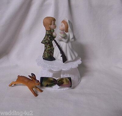 Wedding Reception ~Wild Rabbit Hare~ Hunter Camo Camouflage Hunting Cake - Camouflage Wedding Cakes