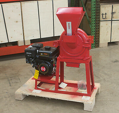 Fine Grinder Universal Mill 9 230mm 6.5hp Gasoline. In Stock. Free Shipping