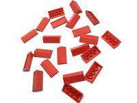 *NEW* 20 Pieces Lego SAND RED Slope 45 2X2 ROOF TILES