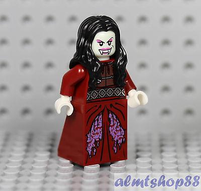 LEGO - Vampire Bride Minifigure - Halloween Ghost Zombie Witch Female Dracula  - Female Vampires Halloween