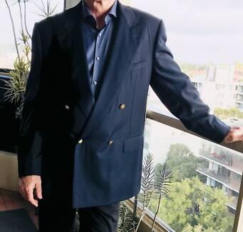 As new Ermengildo Zegna Mens Blazer (56)