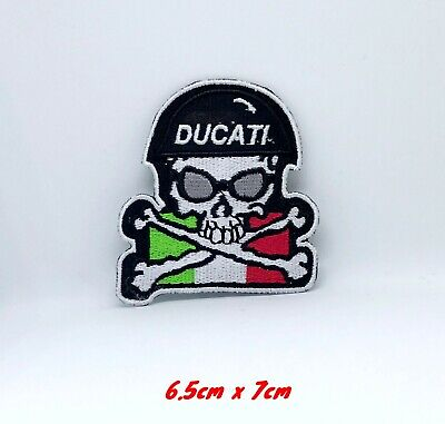 Ducati Italia Motorcycles Iron Sew on Embroidered Patch