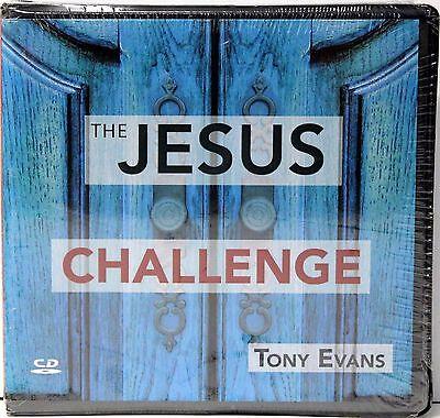 THE JESUS CHALLENGE Audio CD Set By Tony Evans NEW!