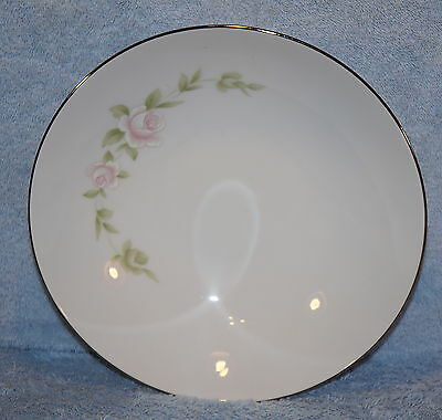 """Style House Pink TUDOR ROSE 9 1/2"""" Round Vegetable Serving Bowl"""