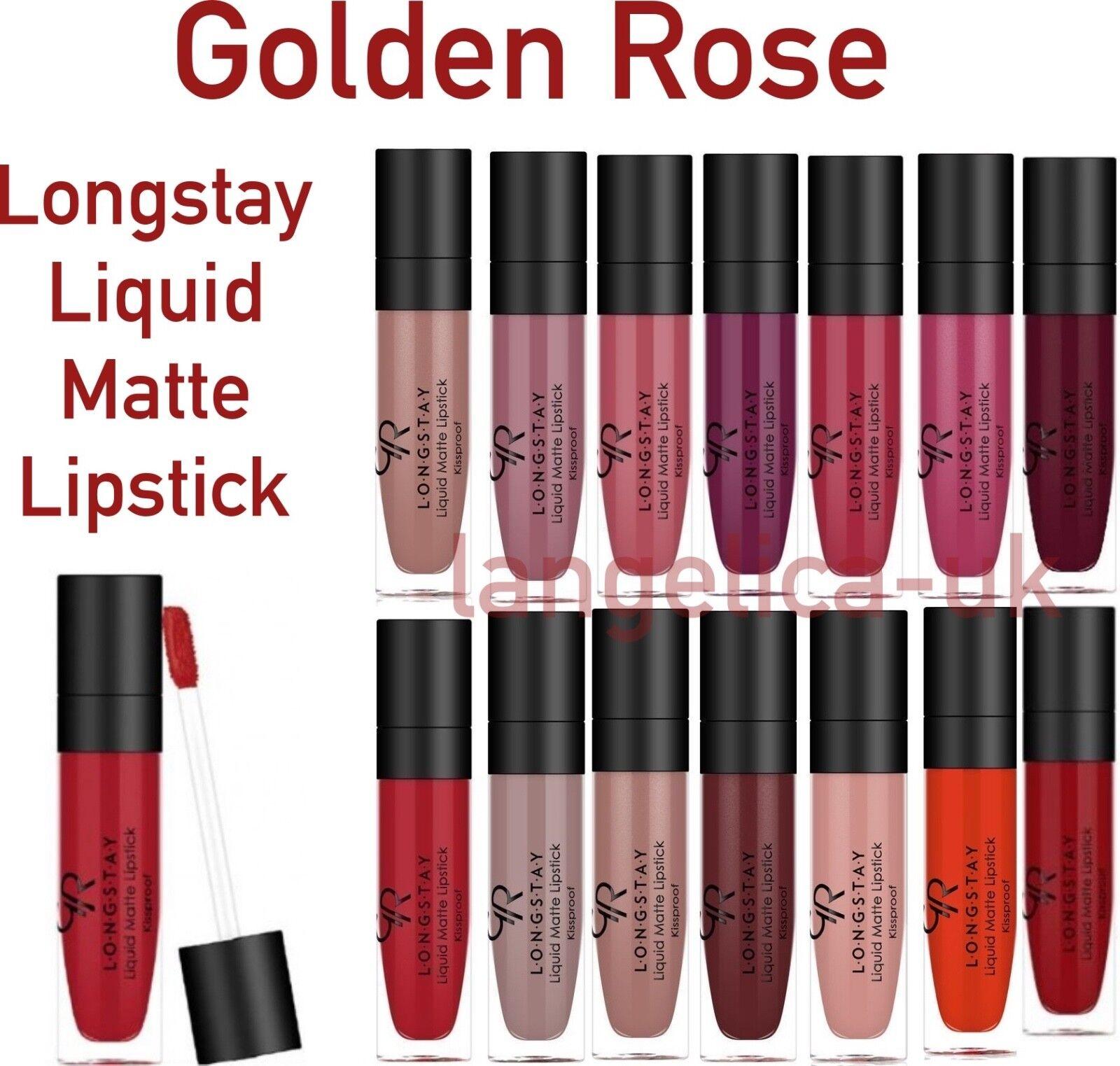 Golden Rose Longstay Liquid Matte Lipstick купить на Ebay в америке