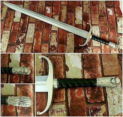 Jon Snow Game of Thrones Winter is Coming Large Wolf Sword Foam CosPlay Larp