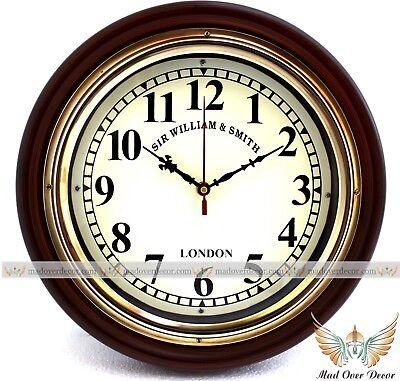 Clocks Roman Numerals Wall Clock Vatican