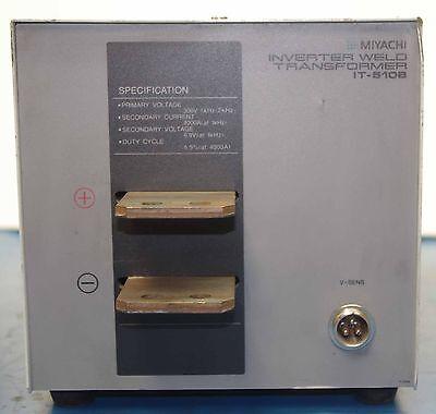 Miyachi It-510b Inverter Weld Transformer