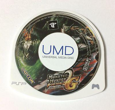 USED PSP Disc Only Monster Hunter Portable 2nd G JAPAN import Japanese game B