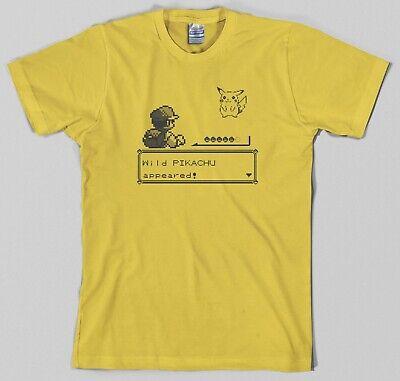 Pokemon T Shirt (Pokemon Battle T Shirt authentic nintendo gameboy ash pikachu videogame rpg)