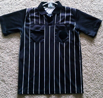 d5030ced5 Black USSF Soccer Official Referee Uniform Jersey