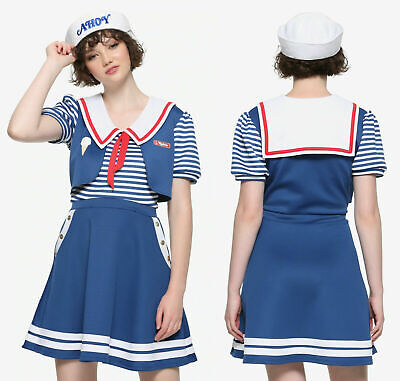 Womans Robin Costume (Stranger Things Robin Scoops Ahoy dress cosplay costume official XL, MSRP)