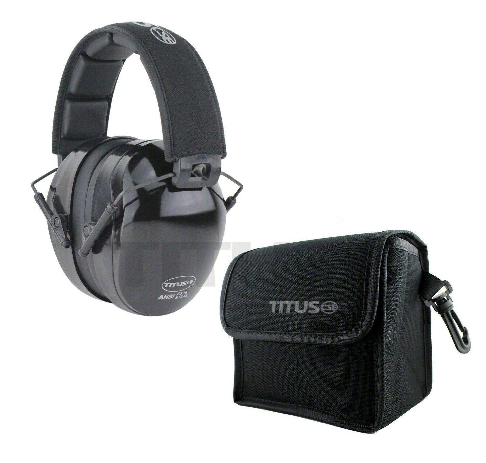 Titus B4 Hearing Protection Shooting Gun Range ANSI OSHA Noi