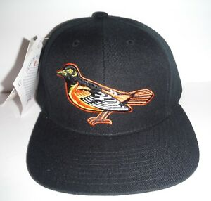 Baltimore Orioles NEW Vintage Snapback Lower Crown Hat NWT Logo Athletic