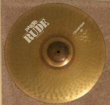 """Paiste RUDE Series 19"""" heavy duty Crash Ride Cymbal as new Kellyville The Hills District Preview"""