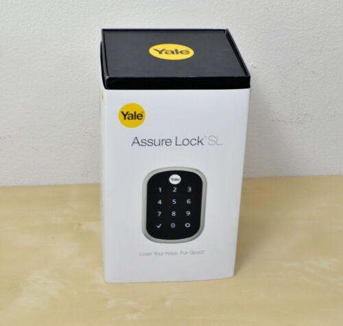 Yale Assure Smart Lock SL Satin Nickle WiFi/BlueTooth R-YRD256-NR-619