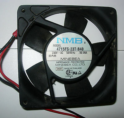 220v Fans Minebea Nmb Or Sunon 119mm Sq X 1 Used