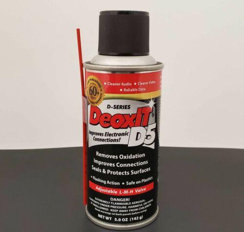 Caig DeoxIT® D5S-6-LMH - Original Can w/ LMH Spray Valve - 5% Solution - 5 oz