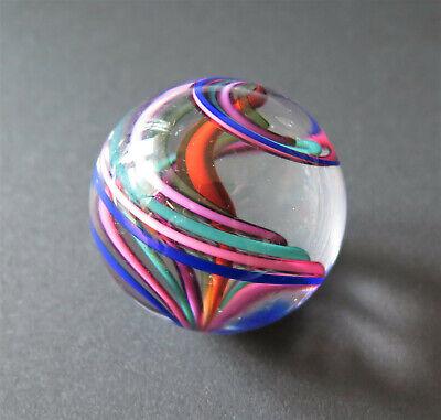 SIGNED STUDIO ART GLASS MARBLE ORB