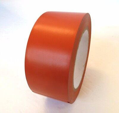 2x 2 Orange Insulated Adhesive Pvc Pin Striping Vinyl Electrical Tape 36 Yd