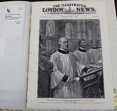 Illustrated London News June 1  1907  News Great Ads Pictures Cars Travel Cures
