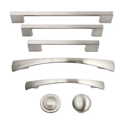 Brushed Satin Nickel Kitchen Cabinet Hardware Knobs Pulls Handles Hardware Cabinet Hardware Knobs Handle
