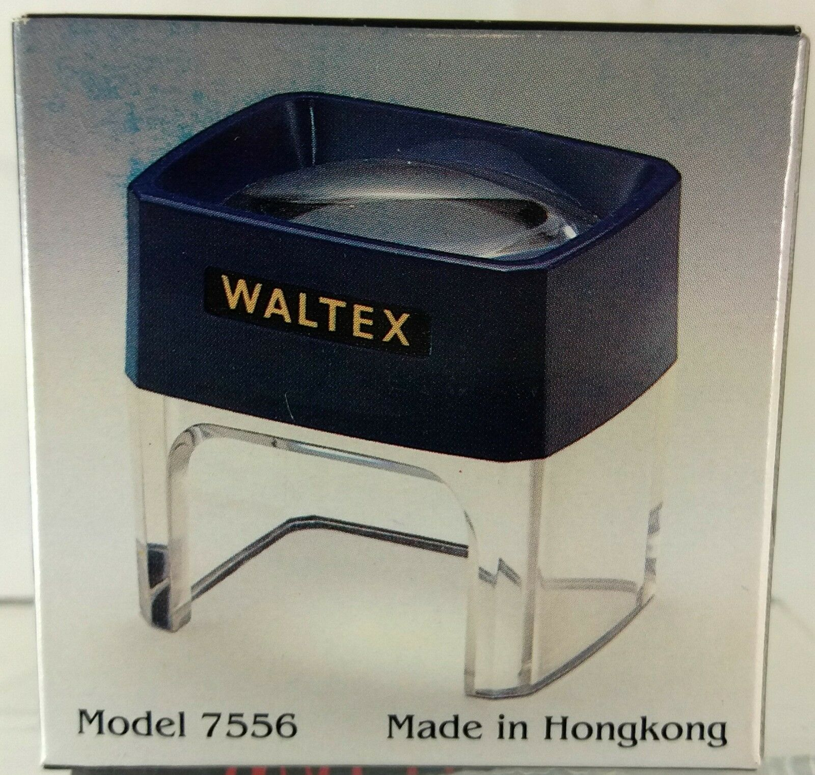 Waltex, Staand Vergrootglas, dradenteller met een vergroting van 3x (VG03)