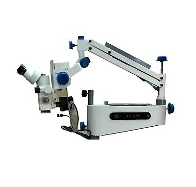 Wall Mount Dental Operating Microscope 5 Step Magnification 90 Degree Iso Ce