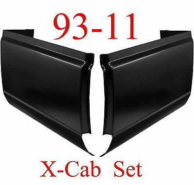 93 11 Extended Cab Corner Set, Ford Ranger, Rust Repair, Left & Right Sides