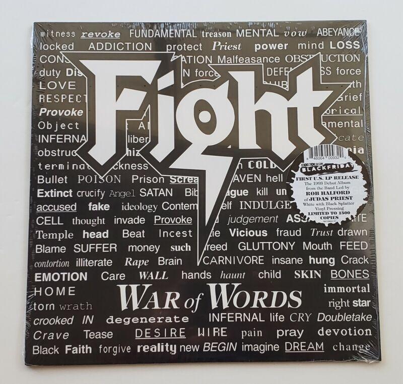 "FIGHT WAR OF WORDS 12"" LP VINYL BLACK FRIDAY RSD 2019 JUDAS PRIEST ROB HALFORD"