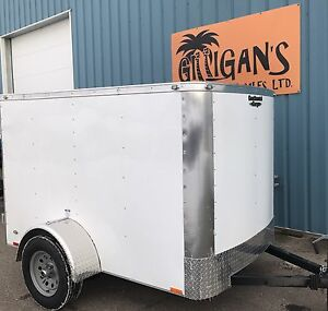 2017 CONTINENTAL CARGO TRAILER 5 X 8 FT