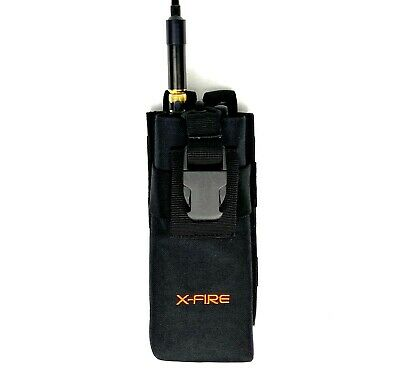 X-fire Tall Portable Radio Molle Washable Pouch Duty Belt Holder Holster Case
