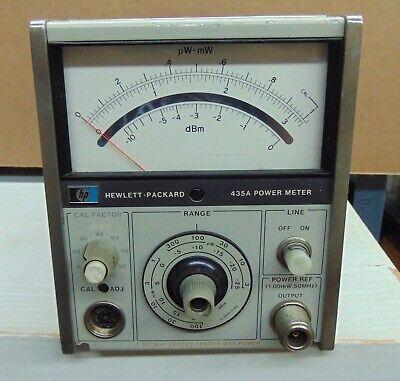 Hp 435a Rf Power Meter