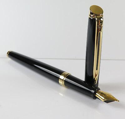 Waterman Hemisphere Essential black Fountain Pen M, new old stock