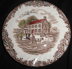 Heritage Hall Johnson Brothers England Pennsylvania Fieldstone 6 3/4