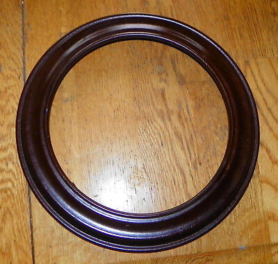 Mahogany Plate Holder / Frame