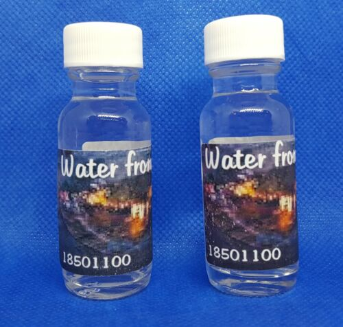 LOURDES WATER -Two bottles !Direct From LOURDES Healing Water Lourdes FRANCE