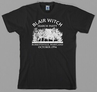 90s Halloween Party (Blair Witch Project Search Party T Shirt found footage halloween paranormal)