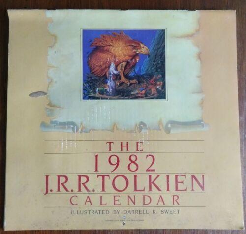 J.R.R. Tolkien Lord of The Rings (LOTR) Calendars 1979 1980 1982 1987
