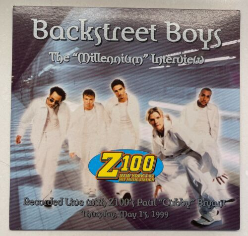 "Backstreet Boys The ""Millennium"" Live Interview Promotional Z100 Radio CD 1999"