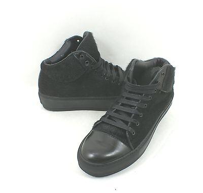 New! ACNE Studios 'Cleo' Sneaker Black Calf Hair Size 35 EU 5 US