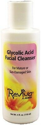Reviva Glycolic Acid Facial Cleanser    4 Oz  Pack 1